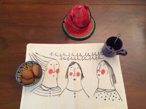 Tovagliette per la colazione -F.Pavan
