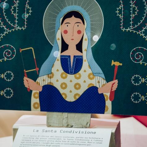 La Santa Condivisione, Illustrazione di Lucilla Vecchiarino