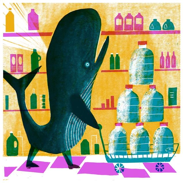 Super-contraddizione. Illustrazione di Simone Spellucci. Stampa digitale
